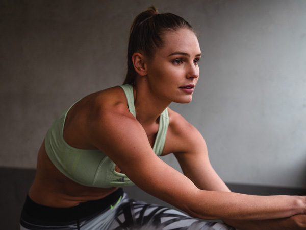 Ruby Melbourne female fitness stretching 1