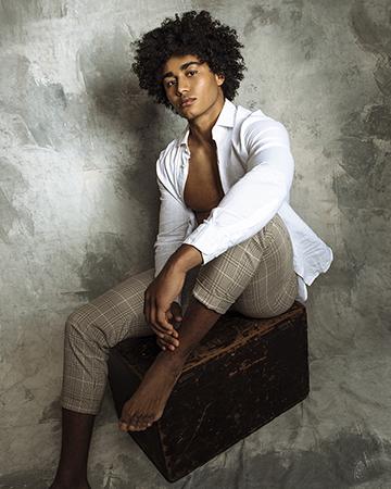 Mark Sydneys fitness male mixed race model