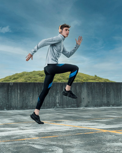 Flynn Sydney elite 1500 meter runner sprinting