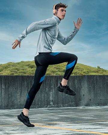 Flynn Sydney male model and elite 1500 meter runner nike campaign talent