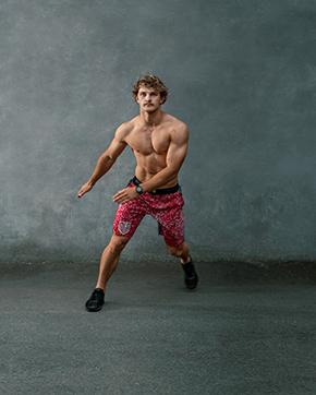 Jake NSW super ninja warrior star side stepping 1