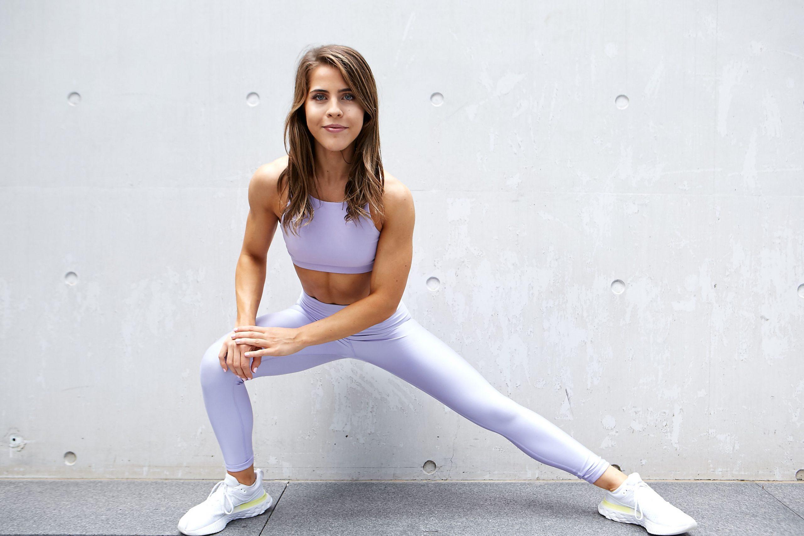 Natasha Sydney female fitness model and athlete nike campaing commercial scaled