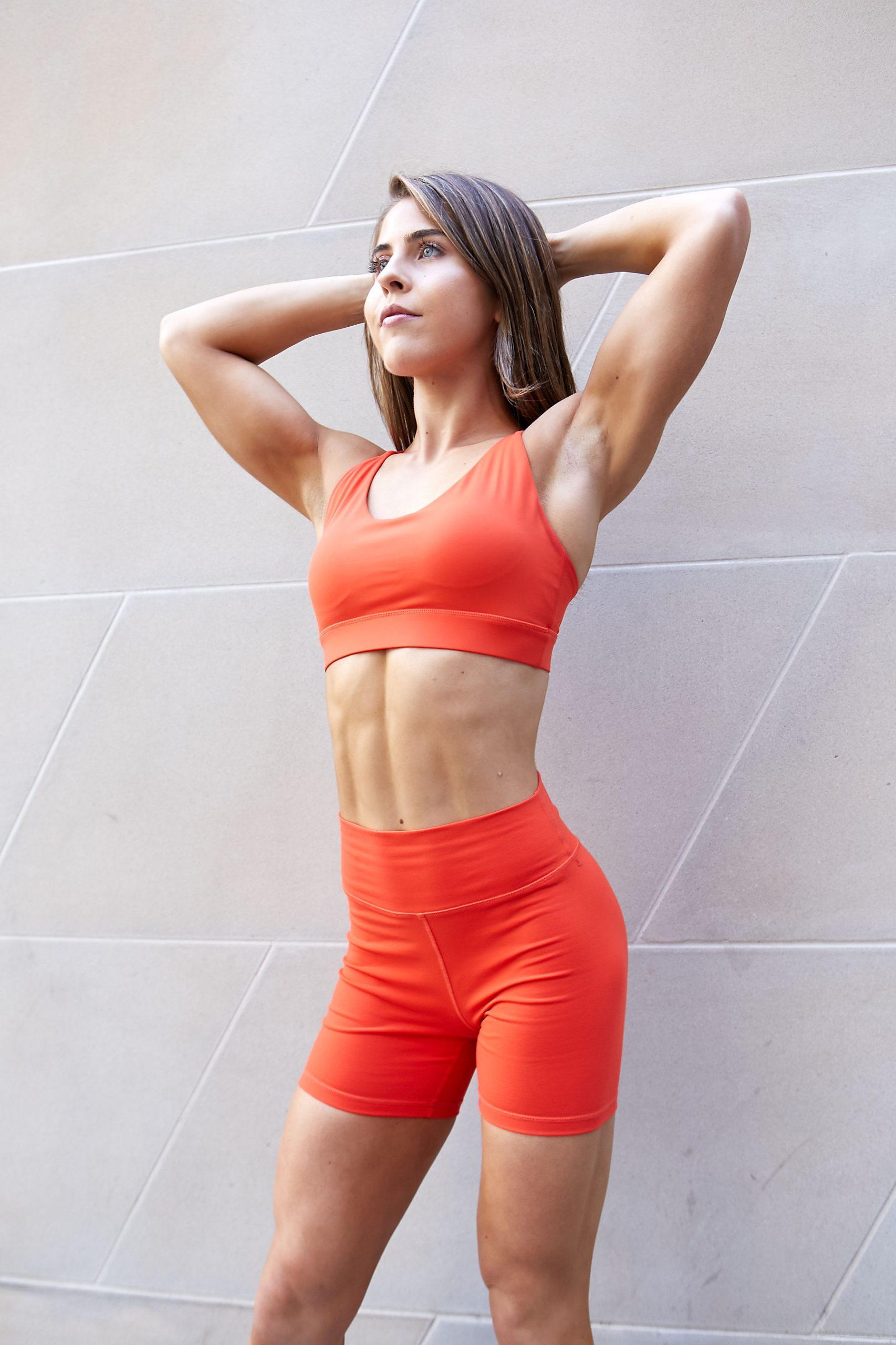 Natasha Sydney female fitness model and athlete nike commercial scaled