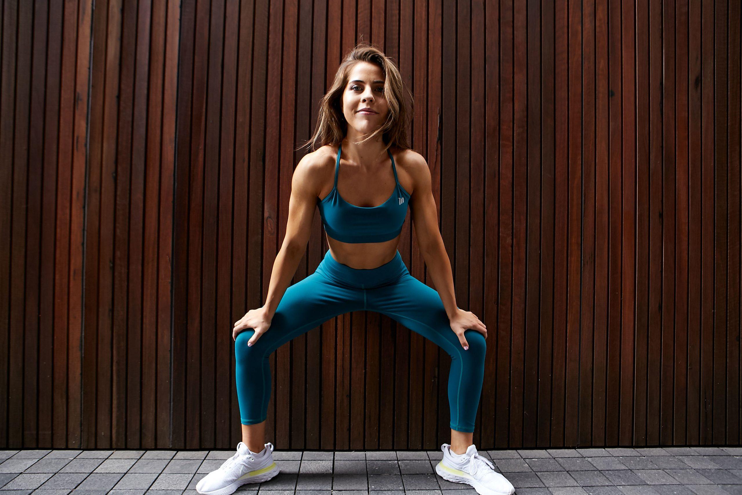 Natasha Sydney female fitness model and athlete resting scaled