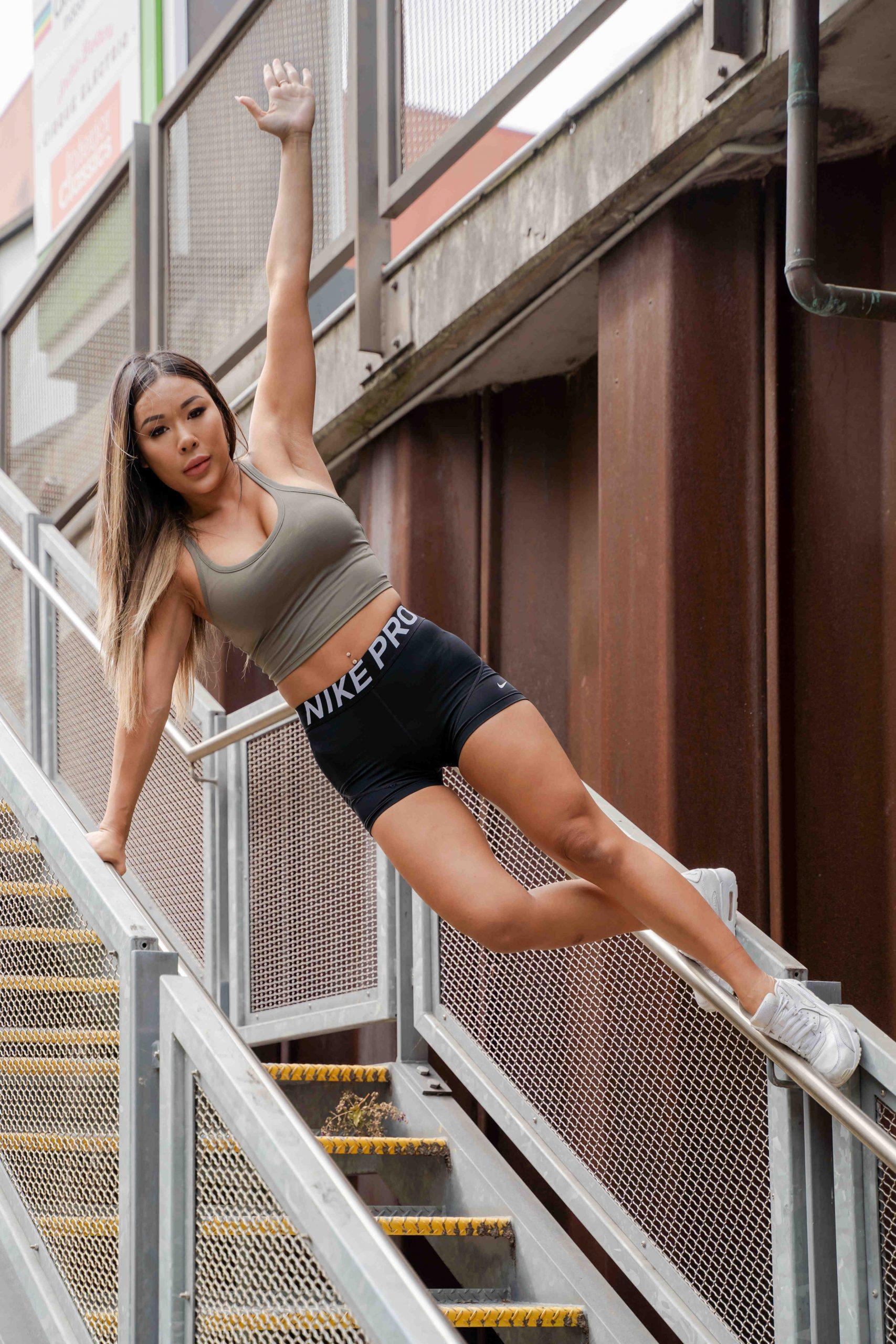 Zora Sydneys chinese fitness model AEFM Internationls latest fitness sensation scaled